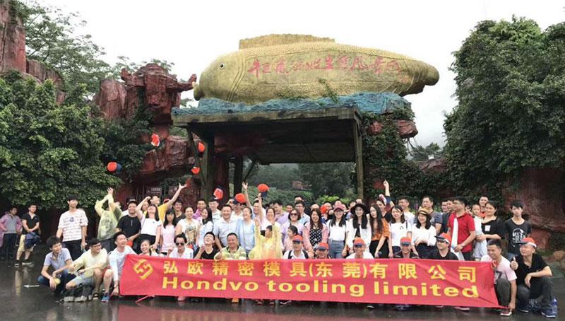 Company Team Travel in Qingyuan